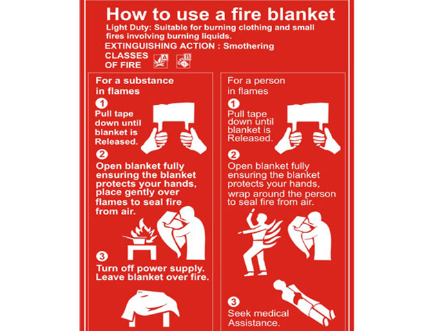 Fire Blanket Dx2 Training Solutions