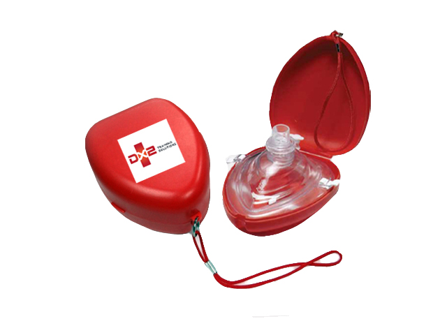 CPR Rescue Pocket Face Mask Resuscitator