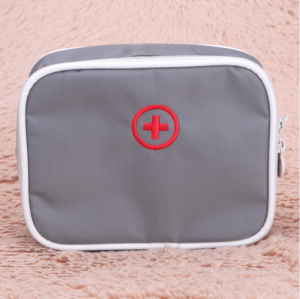 Child essential first aid kit grey